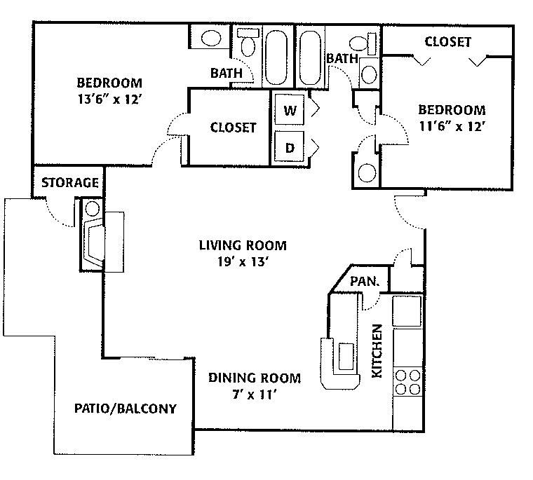 Oak Floorplan